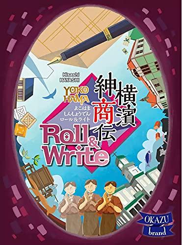 OKAZU brand 横濱紳商伝ロール&ライト (1-6(99)人用 45分 12才以上向け) ボードゲーム