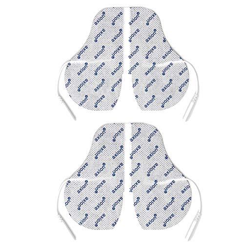 2 Electrodos especiales para el cuello axion | Para su aparato TENS EMS electroestimulador | parches para cuello | almohadilla cervical