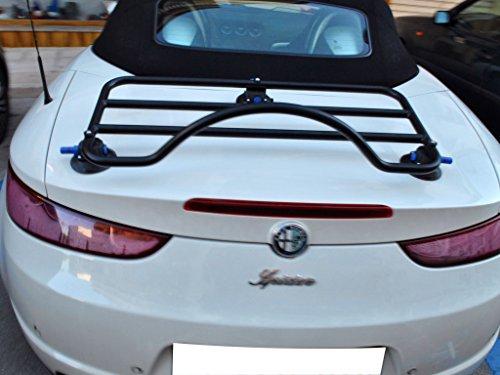 Mazda Miata RF Trunk Luggage Rack (Not Suitable for Models with Lip Spoiler) Unique Design, No Clamps No Straps No Paint Damage