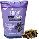 Max and Neo Freeze Dried Beef Heart Dog Treats - Single Ingredient, Pasture Raised, Grass Fed, Human Grade Beef Grown in The USA - We Donate 1 for 1 to Dog Rescues for Every Product Sold