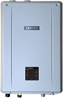 Noritz NRCB199DV-LP Indoor Direct Combination Boiler (Standard Vent Convertible) with Built-in Pump, max 199,900 DHW, 11.1 Gpm, 120,000 Btuh Space Heating-Propane