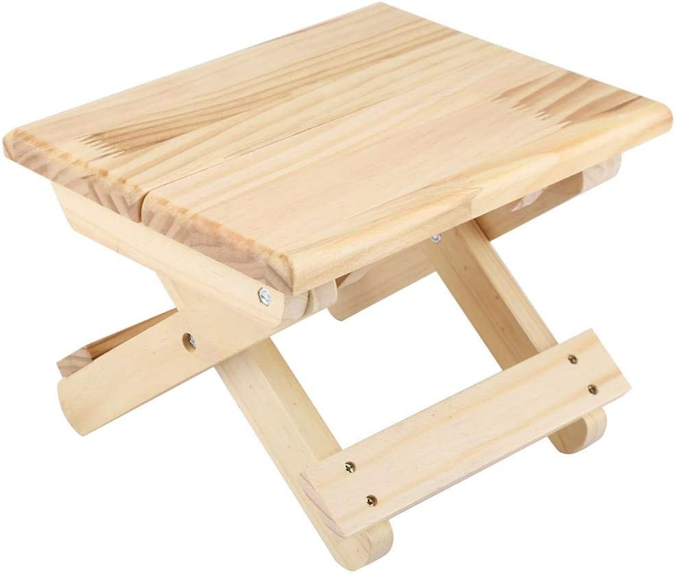 Taidda Wood Small Square Stool Waterproof Foldable Direct sale of Popular overseas manufacturer Solid WearRe
