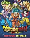 Dragon Ball Super Libro para colorear: 50 páginas para colorear para niños, adolescentes y adultos | Dragon Ball Super, Dragon Ball GT, Dragon Ball Z, ... Un regalo divertido para niños y adultos