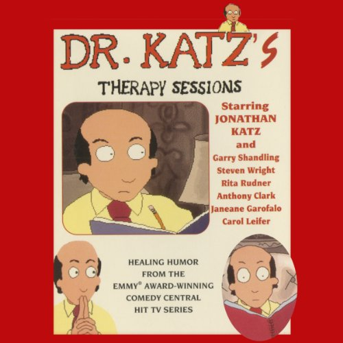 Dr. Katz's Therapy Sessions audiobook cover art