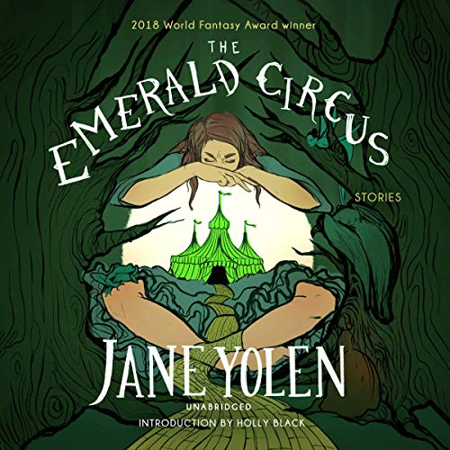 The Emerald Circus audiobook cover art