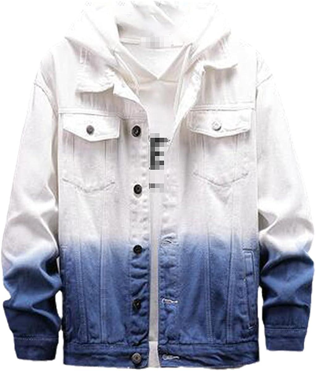 Spring And Autumn Windbreaker Slim Men's Punk Short Jeans Jacket Jacket Street Style Bomber Jacket
