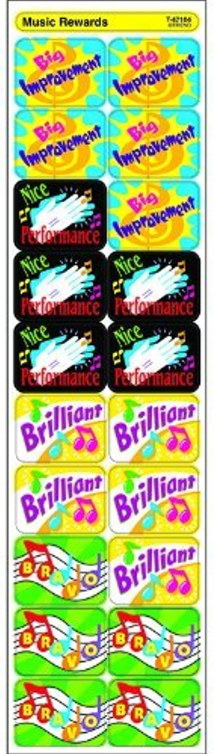Trend 100 Applause Stickers - Music Rewards by TREND ENTERPRISES INC.