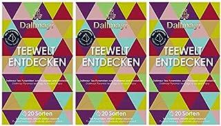 Dallmayr Teewelt Entdecken, 20 Pyramidenbeutel, 3er Pack
