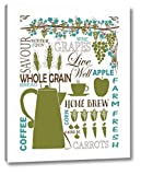 Culinary Love 2 by Leslie Fuqua - 10' x 12' Canvas Art Print Gallery Wrapped - Ready to Hang