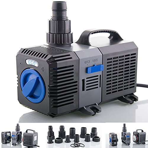 Filterpumpe bis 3000l/h Energiespar Eco Teichpumpe Pumpe Bachlaufpumpe Koiteich