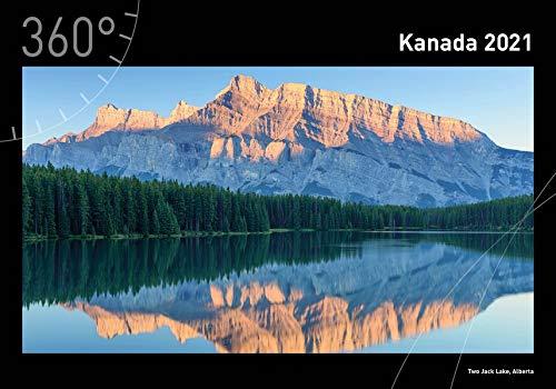 360° Kanada Premiumkalender 2021 (360° Premiumkalender 2021)