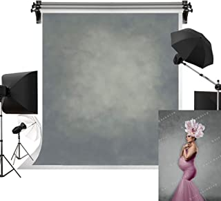 Kate 5x7ft/1.5m(W) x2.2m(H) Light Grey Texture Backdrop Portrait Photography Backdrops Gray Abstract Background Photography Studio Props for Photographer