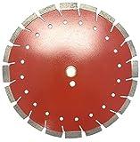VORTICE WTRC 12 inch Supreme Quality Dry or Wet Cutting Versatile Slant Segmented Diamond Blades for Masonry Brick/Block Pavers Concrete Stone (12')