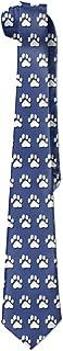 Y-WBS Paw Prints Necktie Skinny Ties