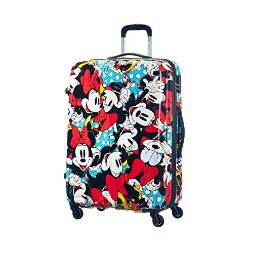 American Tourister Disney Legends Spinner L Maleta Infantil, 75 cm, 88 L, Multicolor (Minnie Comics)