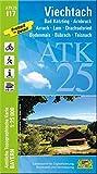 ATK25-I17 Viechtach (Amtliche Topographische Karte 1:25000): Bad Kötzting, Arnbruck, Arrach, Lam, Drachselried, Bodenmais, Böbrach, Teisnach, ... Amtliche Topographische Karte 1:25000 Bayern)