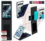 reboon Hülle für Archos 55 Graphite Tasche Cover Case Bumper | Blau | Testsieger