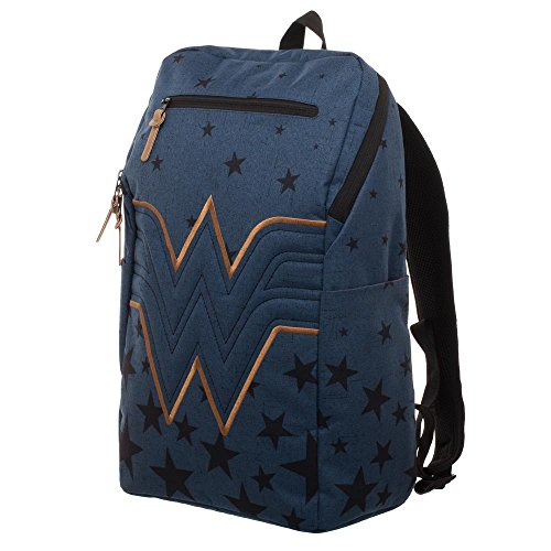 Wonder Woman Backpack - Navy Blue Backpack w/Wonder Woman Logo