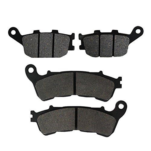 Road Passion plaquette de frein avant et arrière pour NC700 XD Auto G/box/ABS/DCT 2012-2014 / NC700 XA/SA ABS 2012-2013 / NC700 DC-Integra Scooter 2012-2014