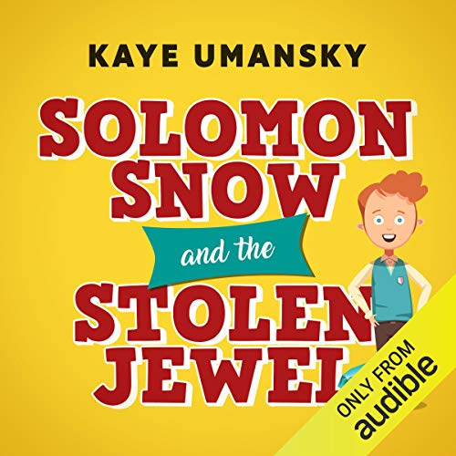 Couverture de Solomon Snow and the Stolen Jewel