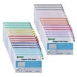 ipow Cartella portadocumenti espandibile Borsa portadocumenti A4 / A5 / A6 / B4 / B5 / B6 (30pz A6 colori)