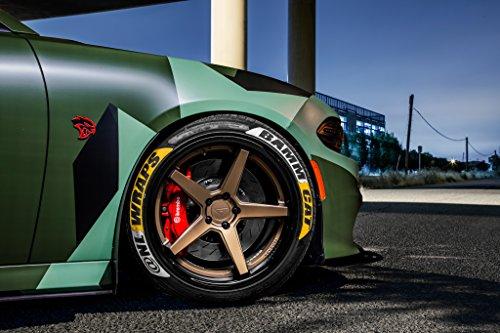 20' Inch Ferrada FR3 Matte Bronze/Gloss Black Lip Concave Wheels Rims | Set of 4 | Fits Dodge Charger Challenger