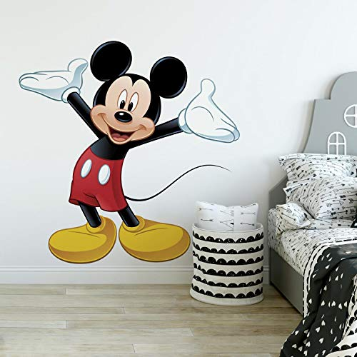 RoomMates RMK1508GM Pared Mickey Mouse Solo Pegatina Gigante, Multicolor