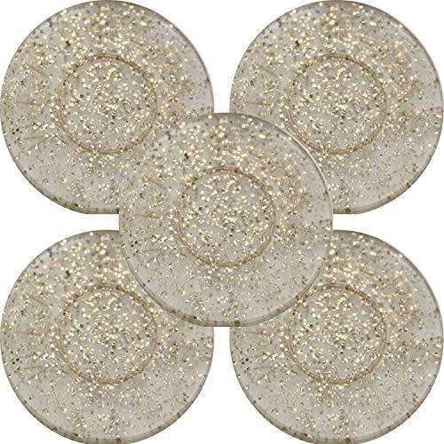 500 Monete 29 mm Stella Gialla En-Joy Gettoni Serigrafati Plastica