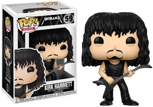 Funko Pop! - Figura Kirk Hammett, colección Metallica (Funko 13808)