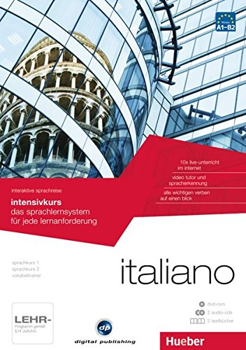 interaktive sprachreise intensivkurs italiano: das sprachlernsystem für jede lernanforderung / Paket: 1 DVD-ROM + 2 Audio-CDs + 2 Textbücher (Interaktive Sprachreise digital publishing)