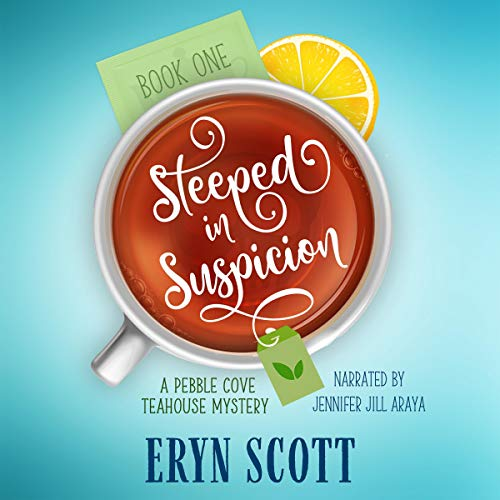 Steeped in Suspicion  By  cover art