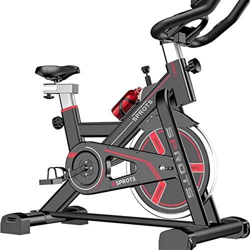 Bicicleta giratoria Ultra silenciosa 120 kg con Soporte de Carga Bicicleta de...
