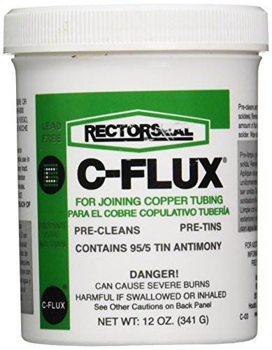 Rectorseal 74025 12-Ounce C-Flux , Gray