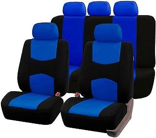 Enoqunt Divertidos dibujos animados de cactus y suculenta cubierta de asiento de autom/óvil Asientos delanteros Coj/ín de asiento delantero de autom/óvil