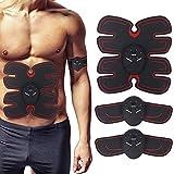 jiaju Abs Stimulator Abs Trainer EMS Muscle Toner Muscle Stimulator Fitness Trainer Toning Belt -