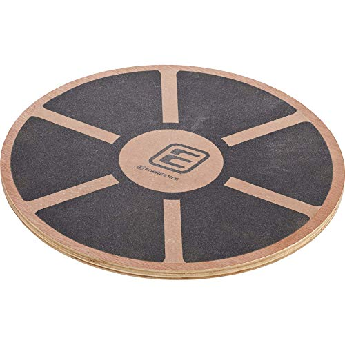 ENERGETICS Balance-Board, Schwarz/Braun, One Size