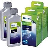Saeco - Juego de 2 filtros de agua Brita y 2 descalcificadores Saeco