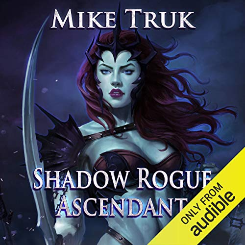 Shadow Rogue Ascendant audiobook cover art