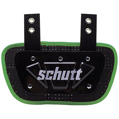 Schutt Sports Neon Football Back Plate, Neon Green, Youth