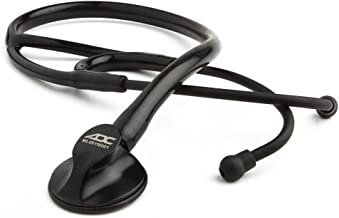 ADC Adscope 600 Platinum Series Cardiology Stethoscope with Tunable AFD Technology, 27 inch Length, Tactical All Black
