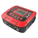 Hitec RCD 44254 X4 AC Pro AC/DC Four Port Multicharger