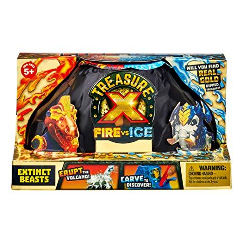 TREASURE X Tesoro X S4 Paquete de Bestias Extintas Fuego vs
