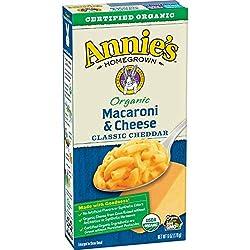 Annie's Organic Macaroni & Cheese, Classic Cheddar, 6 oz