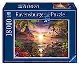 Ravensburger - Atardecer paradisíaco, Puzzle de 18000 Piezas (17824 7)
