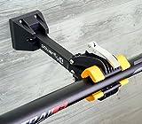 Powerfly Pied de Réparation Support Vélo Mural - Pied d'Atelier VTT Porte-vélos Fixé au Mur avec Barres de Fixation