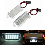 2 X Luz de Matricula 18 LED SMD LED traseras CanBus error free Para Fiesta/Focus / Kuga