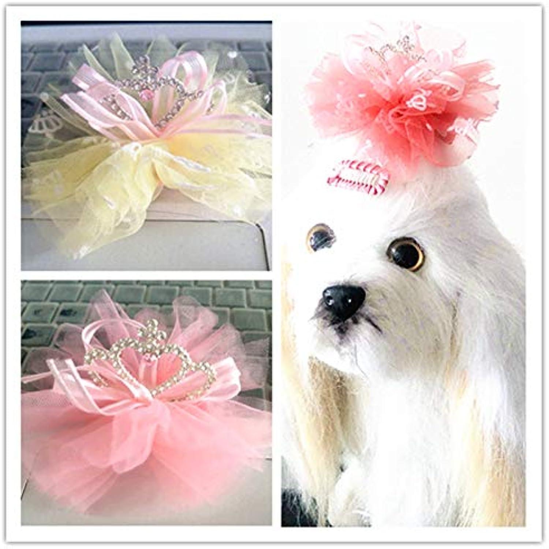 Dog Grooming Crown Dog Bobby Pin Pet Accessory Princess Pet Hairpin Barrette Grooming Hair Clip 12pcs lot