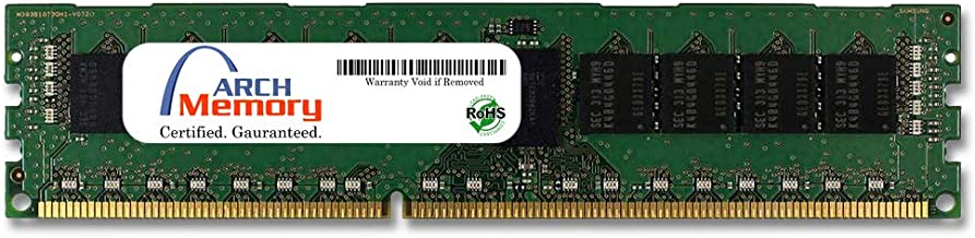 Arch Memory 8GB 240-Pin DDR3 ECC RDIMM RAM for Dell PowerEdge R610 Xeon Quad-Core 2.66 GHz (546595547)