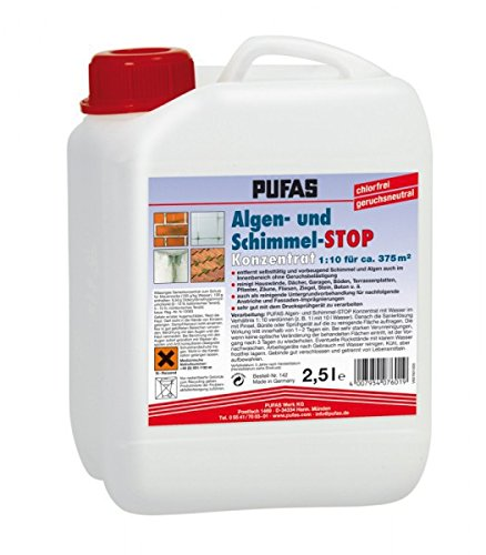 PUFAS Algen- und Schimmel-STOP - Konzentrat 2,5 Liter