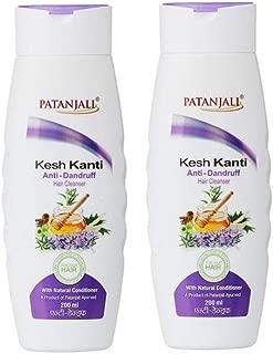 Patanjali Kesh Kanti Anti-Dandruff Hair Cleanser Shampoo, 200ml (Pack of 2)